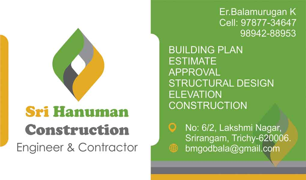 Building contractor business cards image collections business card sri hanuman construction in trichy mukavari sri hanuman construction visitng card back previous next business enquiry colourmoves